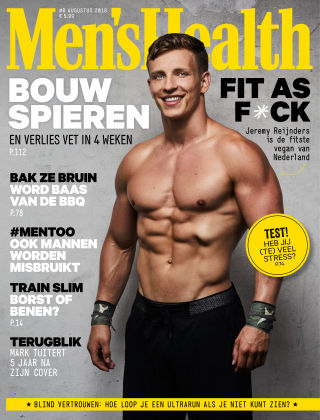 Men's Health - NL 08 2018