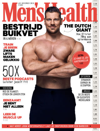 Men's Health - NL 11 2018