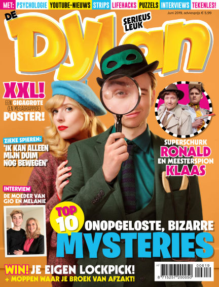 Dylan Haegens Magazine May 23, 2019 00:00