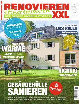 Renovieren + Energiesparen 1/2019