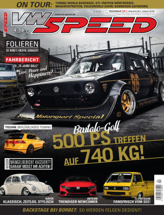 VW SPEED 04/2018