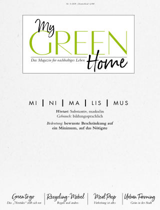 My GREEN Home 1901