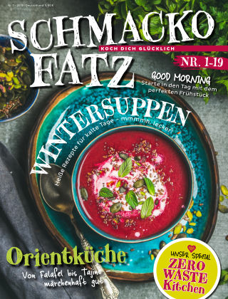 Schmackofatz - Koch dich glücklich Nr 1 2019