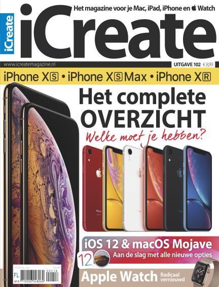 iCreate - NL September 25, 2018 00:00