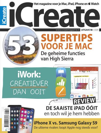 iCreate - NL May 15, 2018 00:00