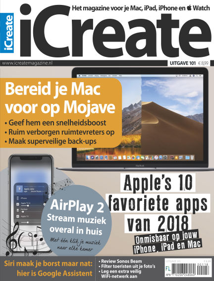 iCreate - NL August 28, 2018 00:00