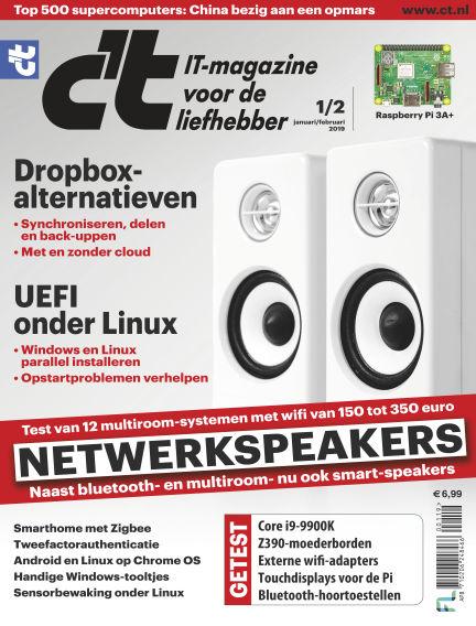 c't magazine December 27, 2018 00:00