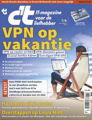 c't magazine 0708-2019