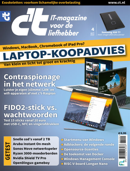c't magazine March 03, 2020 00:00
