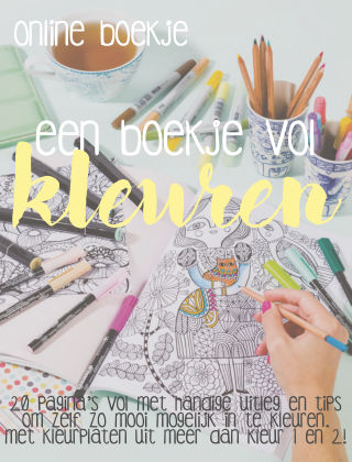 HobbyHandig Special boekje kleuren