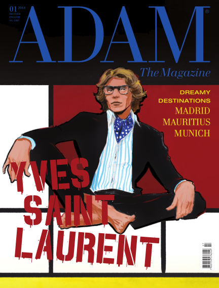 ADAM THE MAGAZINE April 01, 2018 00:00