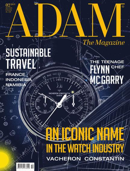 ADAM THE MAGAZINE October 28, 2019 00:00