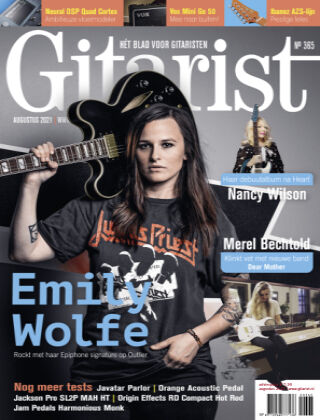 Gitarist augustus 2021