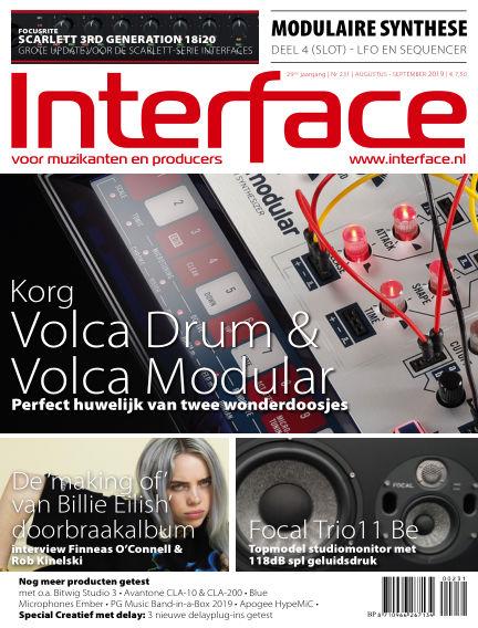 Interface July 25, 2019 00:00