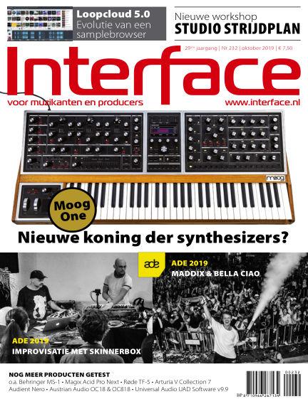Interface September 26, 2019 00:00