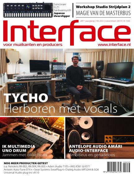 Interface October 24, 2019 00:00