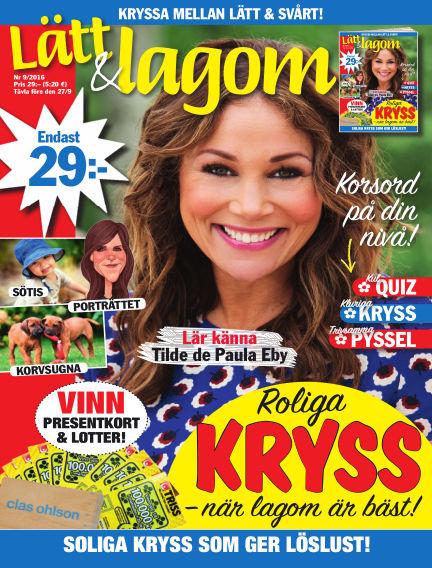 Lätt & Lagom August 23, 2016 00:00