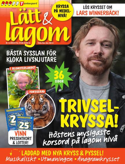 Lätt & Lagom October 15, 2019 00:00