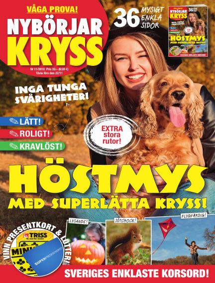 Nybörjarkryss October 18, 2016 00:00