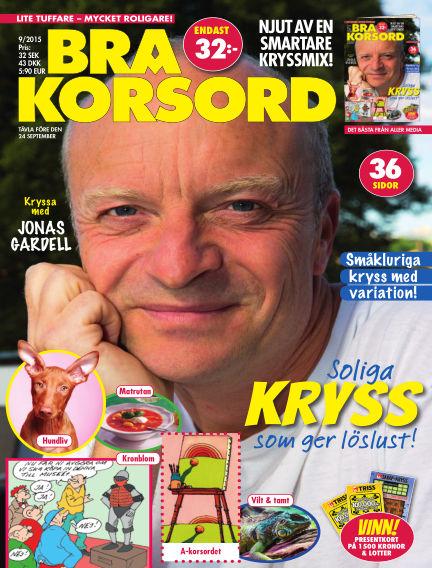 Bra Korsord August 11, 2015 00:00