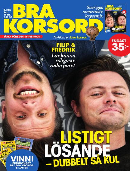 Bra Korsord January 08, 2016 00:00