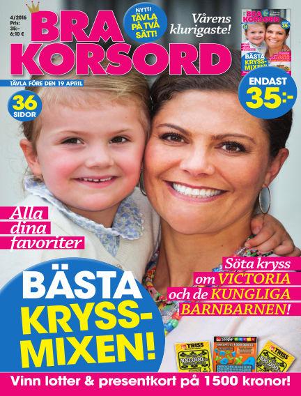 Bra Korsord March 08, 2016 00:00