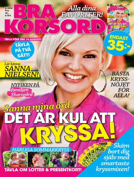 Bra Korsord July 12, 2016 00:00