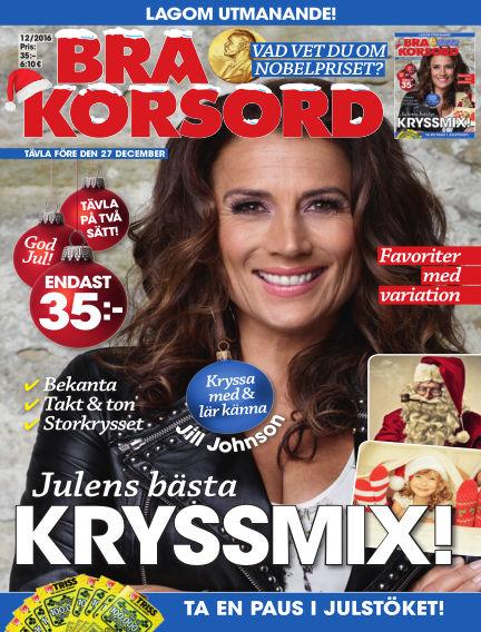 Bra Korsord November 15, 2016 00:00