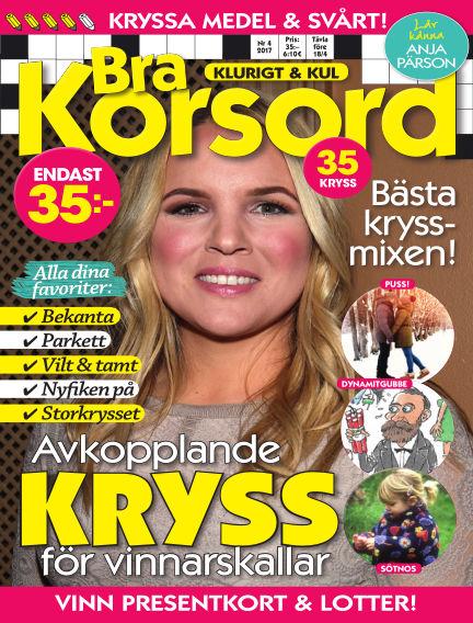 Bra Korsord March 07, 2017 00:00