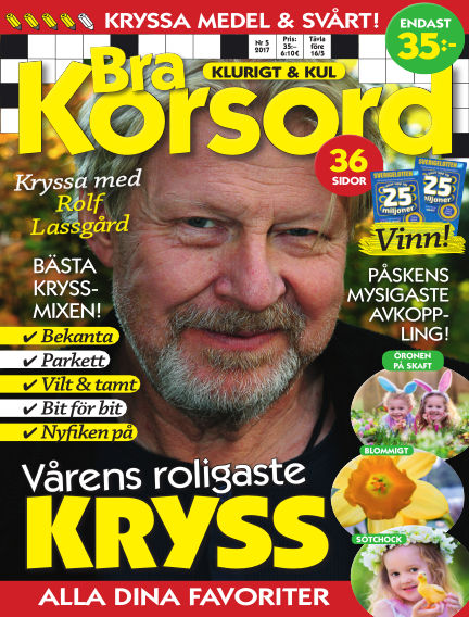 Bra Korsord April 11, 2017 00:00