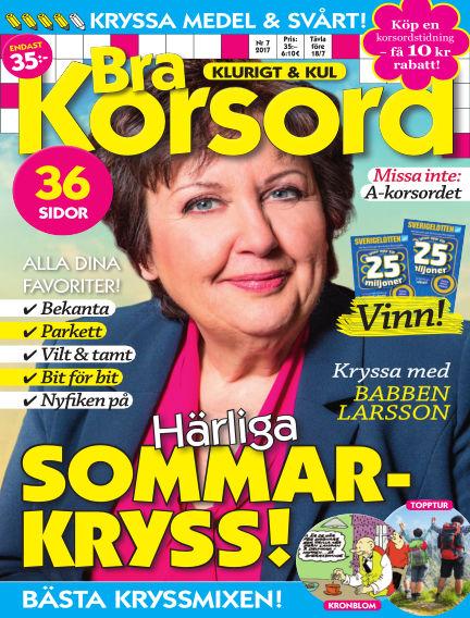 Bra Korsord June 08, 2017 00:00