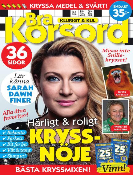 Bra Korsord January 11, 2018 00:00
