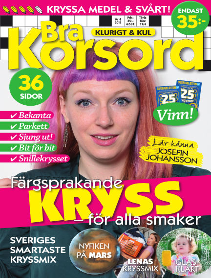 Bra Korsord March 06, 2018 00:00