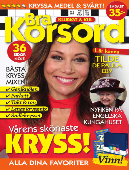 Bra Korsord May 08, 2018 00:00