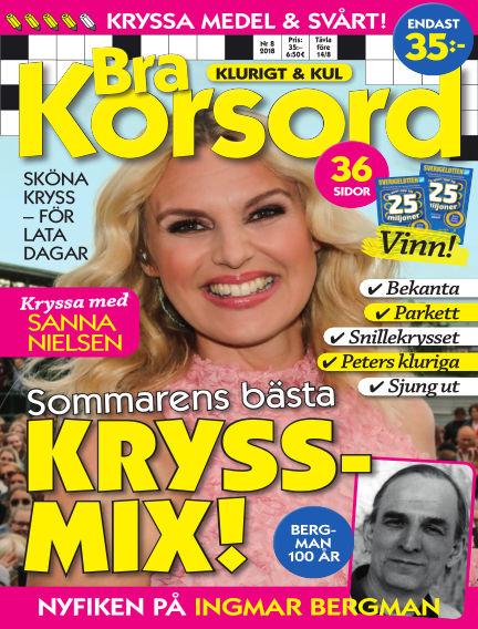 Bra Korsord July 10, 2018 00:00