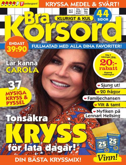 Bra Korsord August 06, 2019 00:00