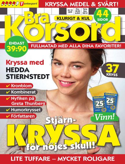 Bra Korsord September 10, 2019 00:00