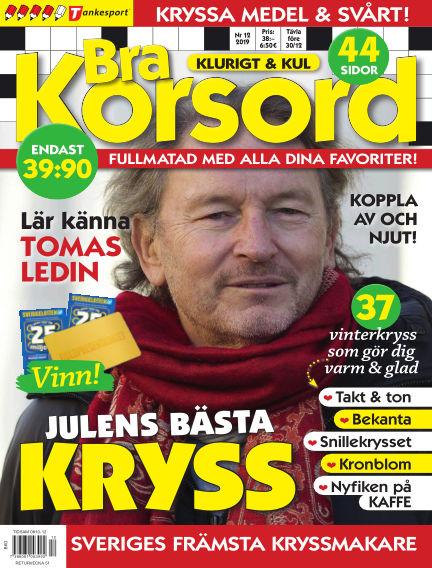 Bra Korsord November 12, 2019 00:00