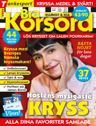 Bra Korsord 2020-11-10