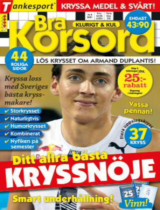 Bra Korsord 2021-07-01