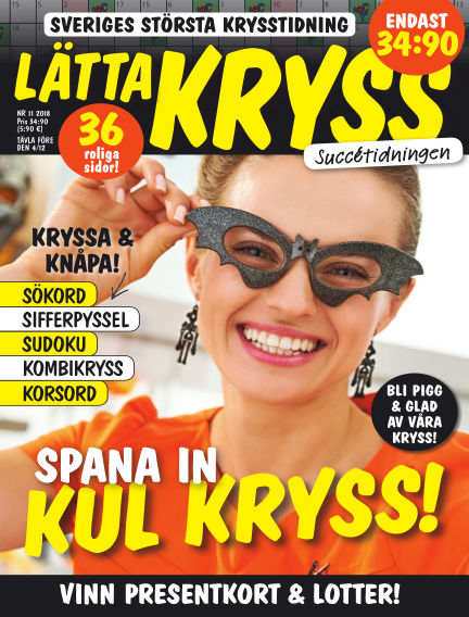 Lätta kryss October 23, 2018 00:00