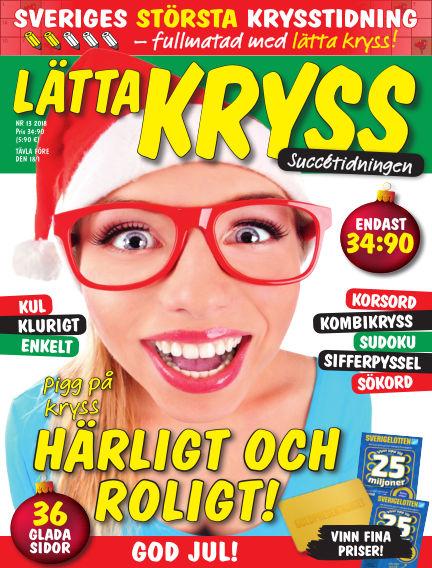 Lätta kryss December 07, 2018 00:00