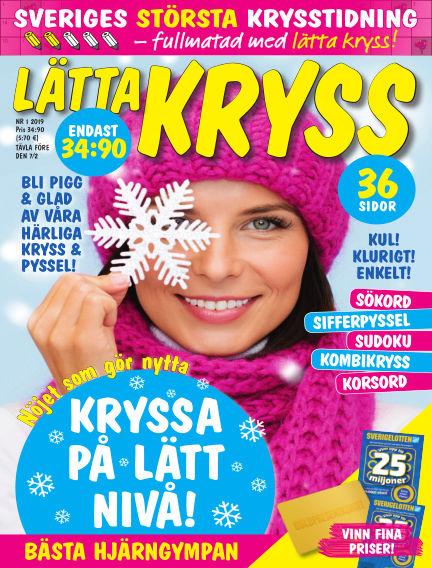 Lätta kryss January 03, 2019 00:00