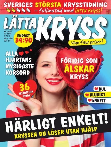 Lätta kryss January 31, 2019 00:00