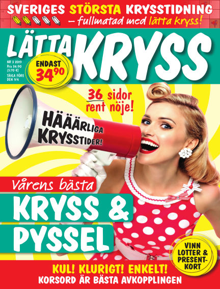 Lätta kryss February 26, 2019 00:00