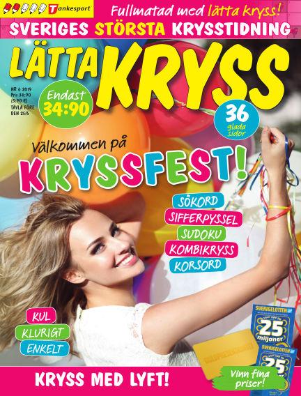 Lätta kryss May 14, 2019 00:00