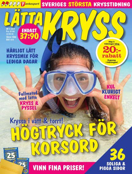 Lätta kryss July 09, 2019 00:00