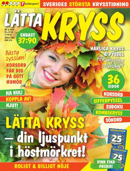 Lätta kryss October 22, 2019 00:00