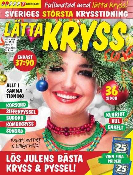 Lätta kryss December 12, 2019 00:00