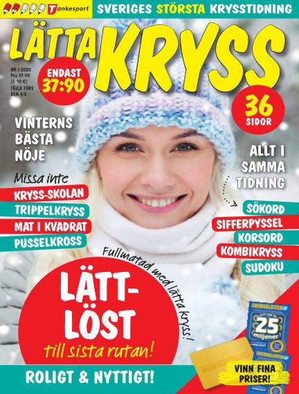 Lätta kryss December 31, 2019 00:00